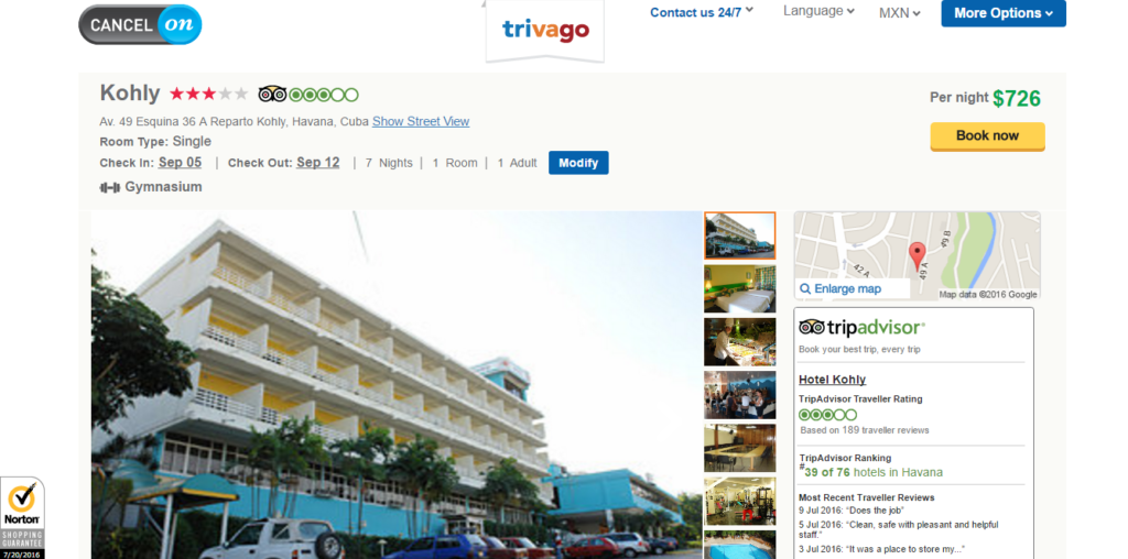 hotel habana