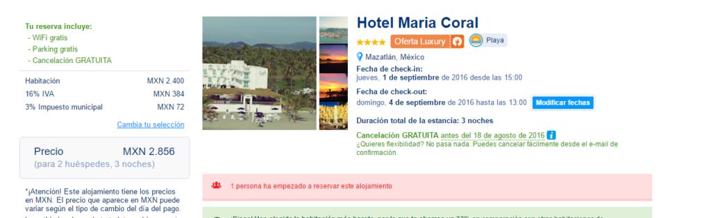 Maztlan Hotel nuevo