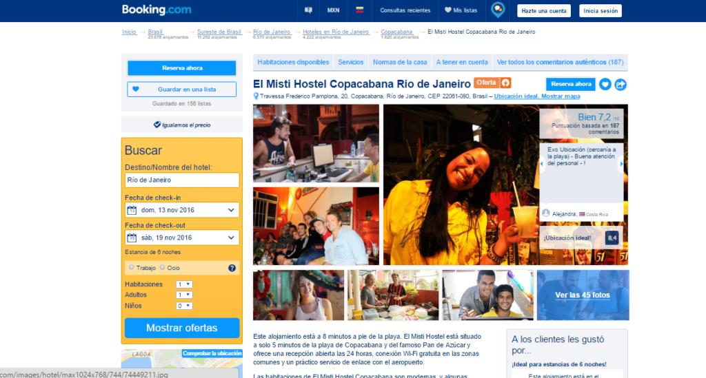 Rio de Janeiro hotel 1