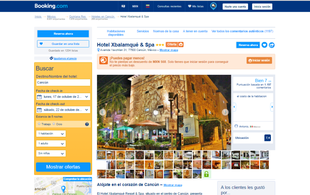 cancun hotel Xbalamque