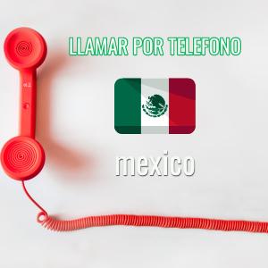 Llamando desde México