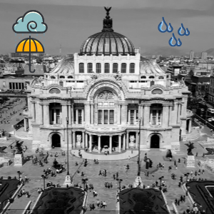Temporada de lluvias en el DF