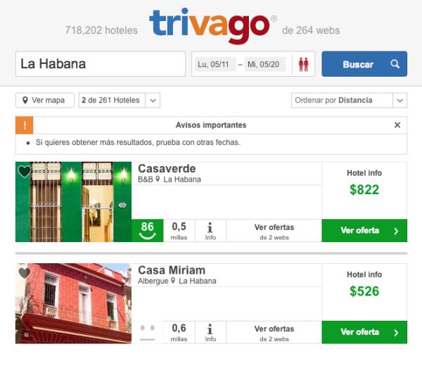 Hospedaje La Habana