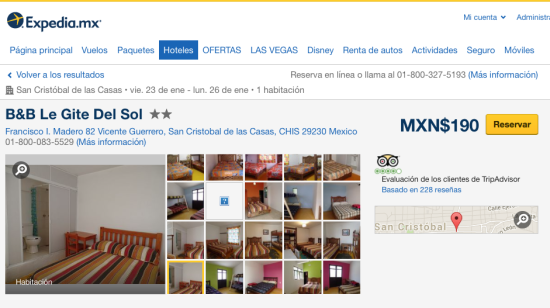 Hotel Chiapas_San Cristobal