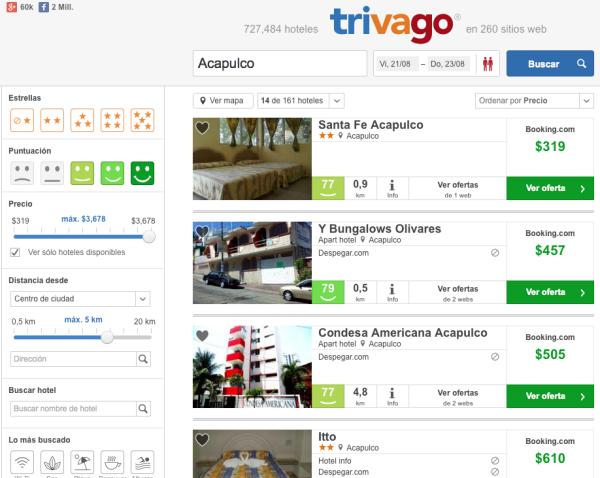Hoteles baratos Acapulco