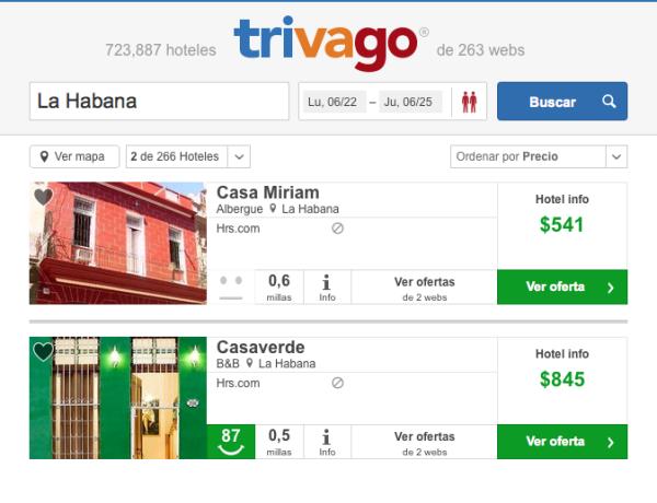Oferta hoteles Cuba Marzo Junio