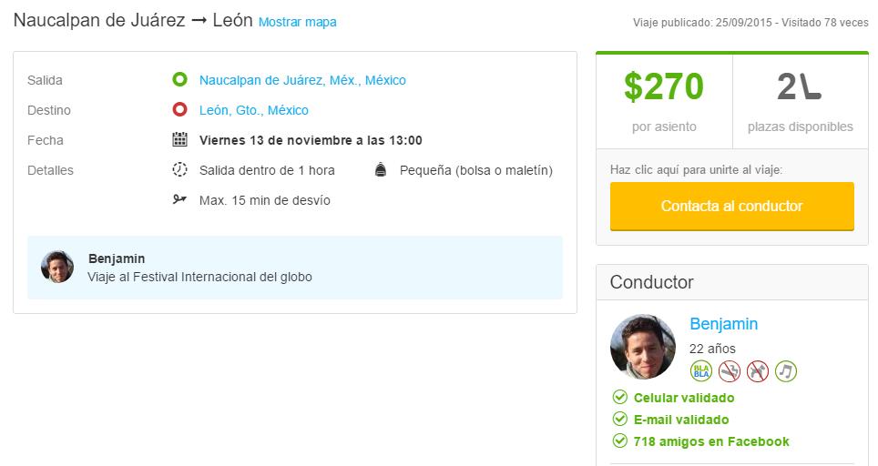 Blablacar DF - León