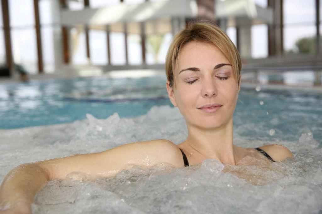 aguas termales relajacion