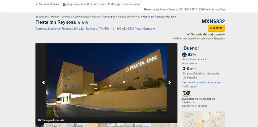 Hotel Reynosa
