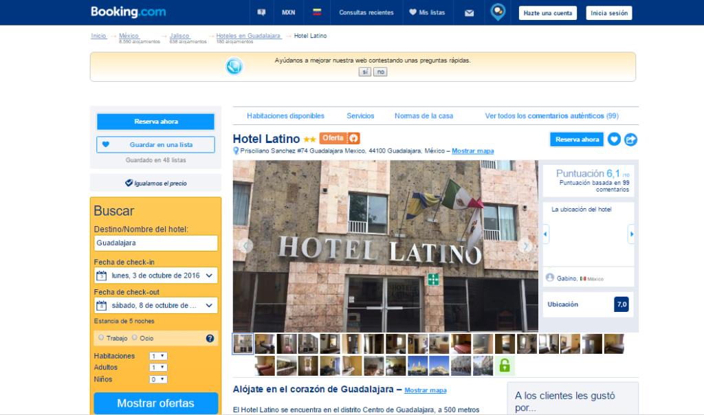 Guadalajara hotel 3