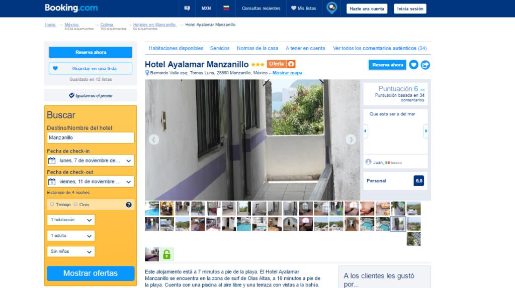 Manzanillo Hotel Ayalamar