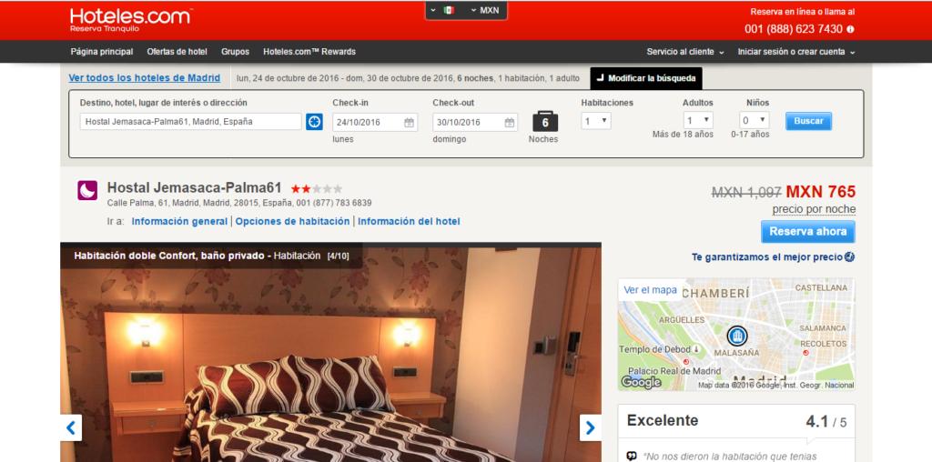madrid hotel 2