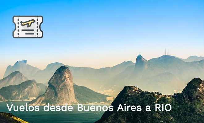 Vuelos desde Argentina a Río de Janeiro