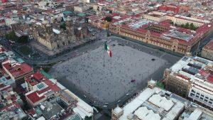 La plaza de la Constitución o el Zócalo